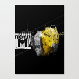 Blondit Canvas Print