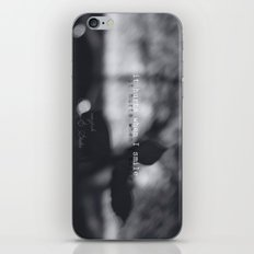 They come at night iPhone & iPod Skin