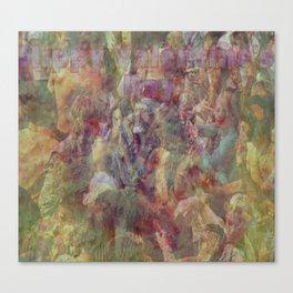 Hippy Valentine's  Canvas Print