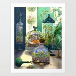 Quirks & Secrets Art Print