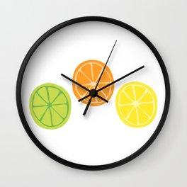 You Can't Citrus Us Wall Clock