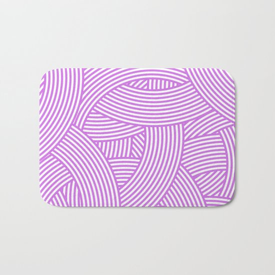 New Weave in Radiant Orchid Bath Mat