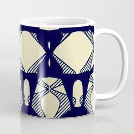 DISTORTION AND PERCEPTION PATTERN  - ORANGE Coffee Mug