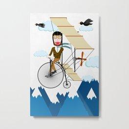 Flying Adventure Metal Print