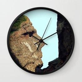 Indian Head Rock Wall Clock