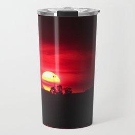 Smokey sunset Buff Point NSW Travel Mug