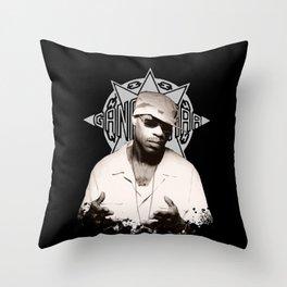 Guru // GangStarr Throw Pillow