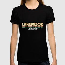 Retro Lakewood Colorado T-shirt