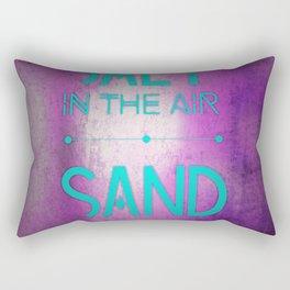 summer text Rectangular Pillow