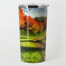 Fall Road Travel Mug
