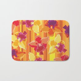 Fluor Flora - Arancio Bath Mat