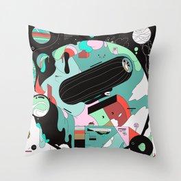 VKVKVKVK Throw Pillow