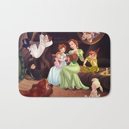 Belle, Wendy and the Lost Boys Bath Mat
