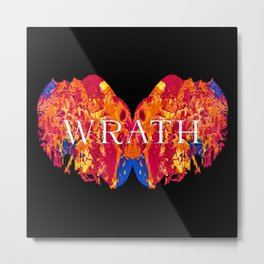 The Seven deadly Sins - WRATH Metal Print