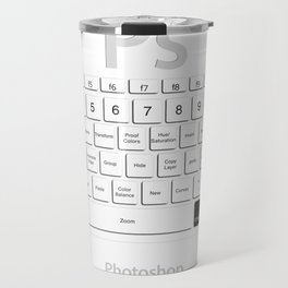 Photoshop Keyboard Shortcuts Cmd Travel Mug