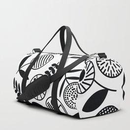Geometric Florals Duffle Bag