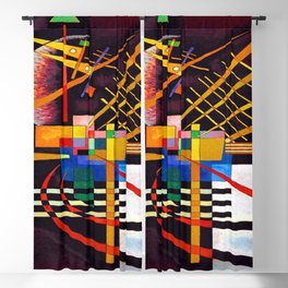 Wassily Kandinsky Above and Left Blackout Curtain