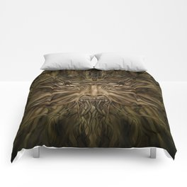 The Green Man Comforters