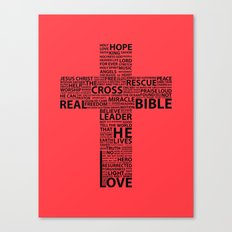 The base of it all it's love Canvas Print