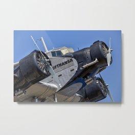 Lufthansa Junkers Ju 52 Metal Print