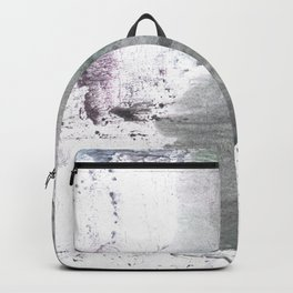 Gray hand-drawn wash drawing design Backpack