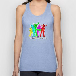 TPoH: Colourful Personality Unisex Tank Top