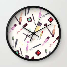 Let's Make-up! Wall Clock