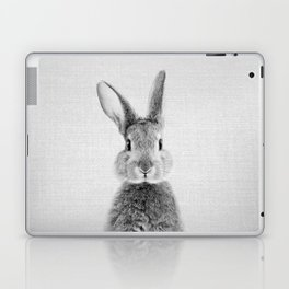 Rabbit - Black & White Laptop & iPad Skin
