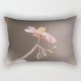 magic tiny pink flower Rectangular Pillow