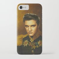 replaceface iPhone & iPod Cases featuring Elvis Presley - replaceface by replaceface