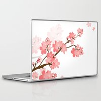 cherry Laptop & iPad Skins featuring Cherry by Ale Ibanez
