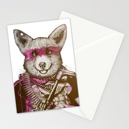 Badass Pets : The Wild Corgi Stationery Cards