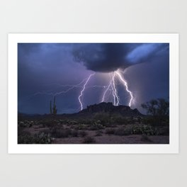The Magic of the Monsoon Art Print