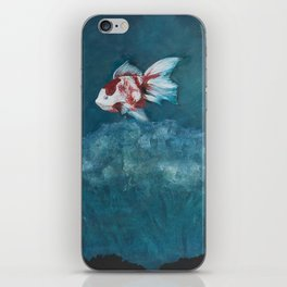 Dreamed chinese gold fish iPhone Skin