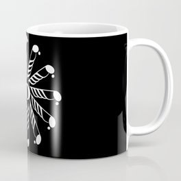 Music note mandala 3 - inverted Coffee Mug