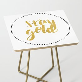 STAY GOLD Side Table
