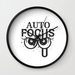 Auto focus Wall Clock