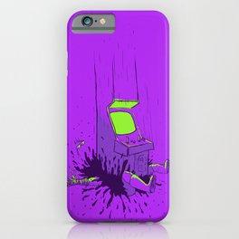 Mortal Street Kombat Fighter - Arcade Fatality iPhone Case