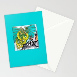 facing your fear (square) Stationery Cards