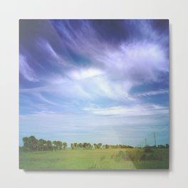 Her Heart Was as Expansive as the Sky Metal Print