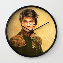 Harry General Portrait Painting   Fan Art Wall Clock