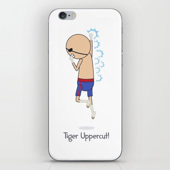 Tiger Uppercut iPhone & iPod Skin