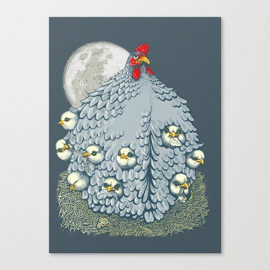 hen ship Canvas Print
