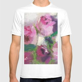 Pink Fresh Roses T-shirt
