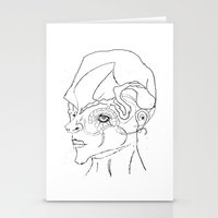 human Stationery Cards featuring Human. by sonigque