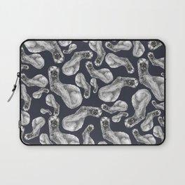 Kolinsky pattern Blue Violet Laptop Sleeve