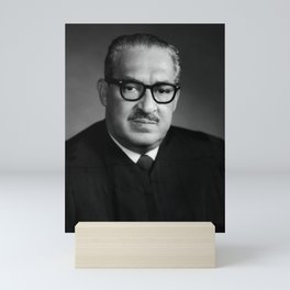 Thurgood Marshall Portrait - 1970 Mini Art Print