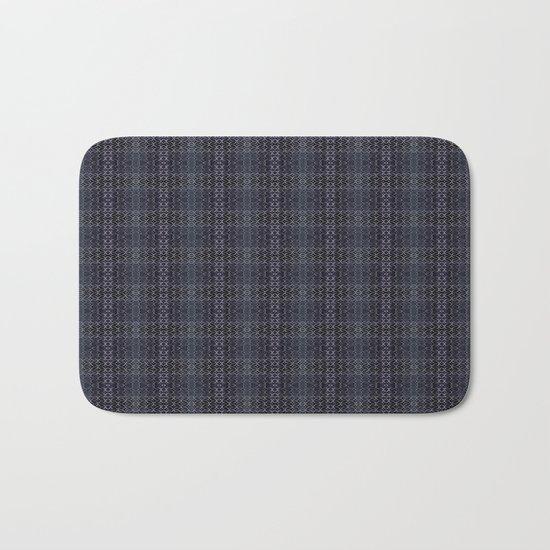 Backsplash Square Glass Spirals Bath Mat
