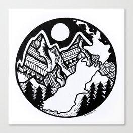 EN ZED Canvas Print