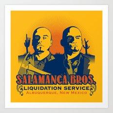 Salamanca Brothers Art Print